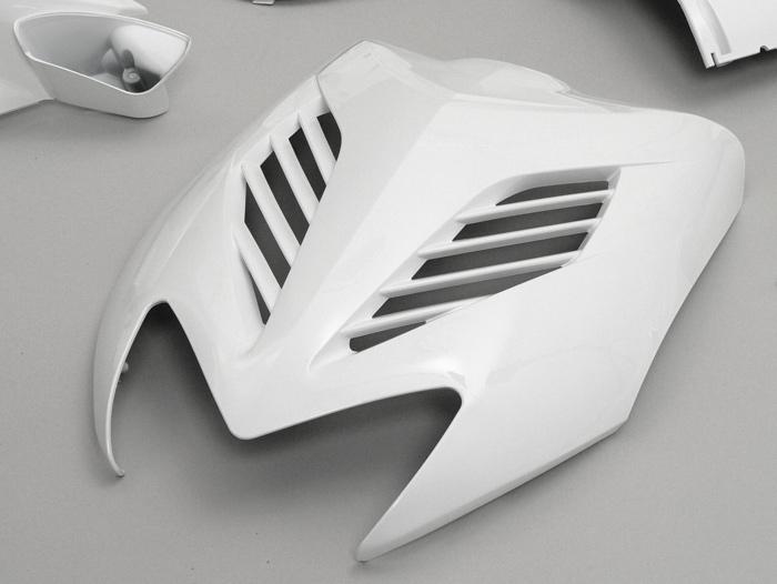 Verkleidungsset Verkleidung DMP 11 teilig Yamaha Aerox - MBK Nitro weiß