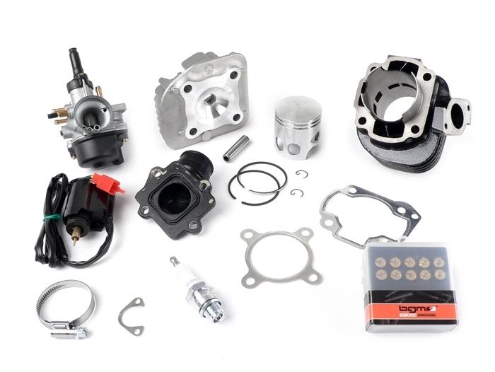 Tuningkit Sport Set Zylinder DR 70 ccm Aprilia SR Yamaha Neos MBK Ovetto Evolis