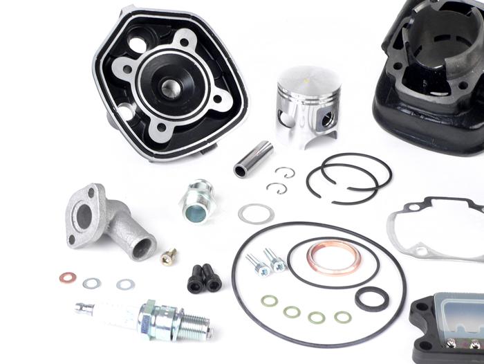 Tuningkit Sport Set Zylinder DR 70 Peugeot Speedfight 1 2 X Fight 50 ccm 3