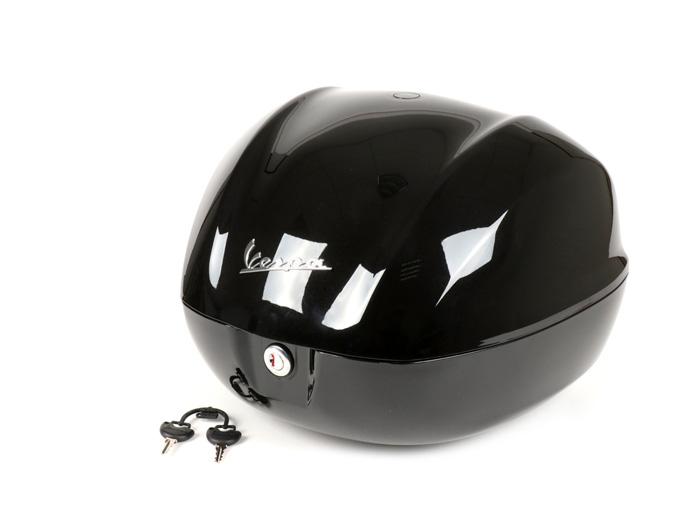 topcase koffer 32l schwarz vespa primavera sprint 50 125. Black Bedroom Furniture Sets. Home Design Ideas
