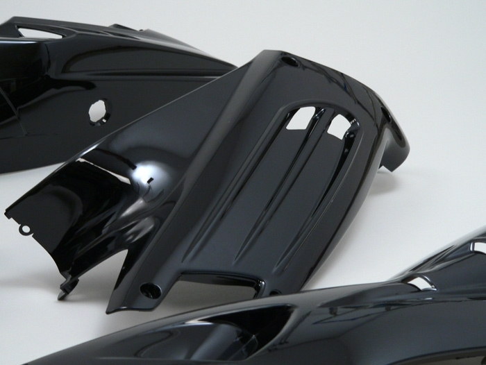 verkleidung edge 13 teilig peugeot speedfight 2 schwarz. Black Bedroom Furniture Sets. Home Design Ideas